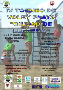 IV Torneo Voley Playa Ciudad de Llerena